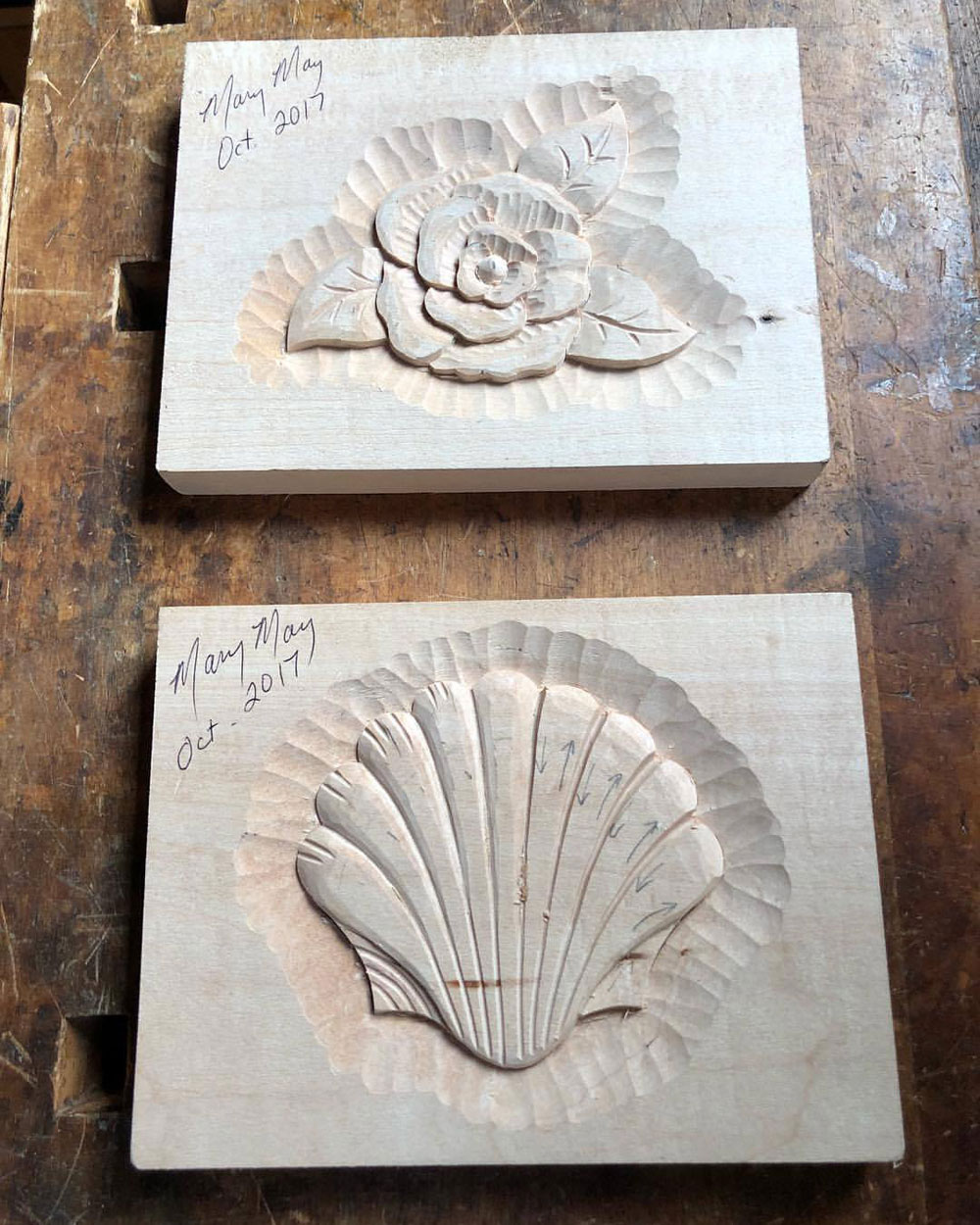 Mary May woodcarving interview   Amy Herschleb