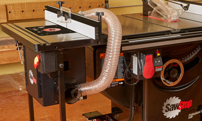 NEW SawStop Router Tables