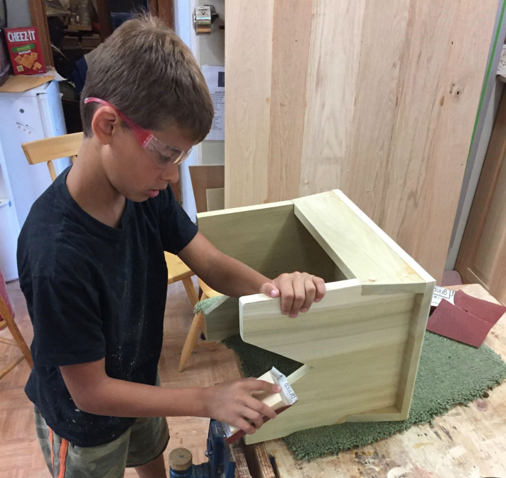 Woodworking With The Young Woodworker Woodworking Project