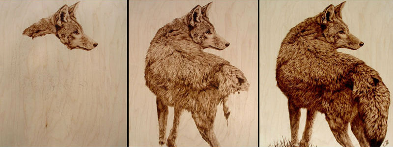Pyrography Workshop with Julie Bender
